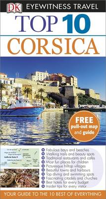 DK Eyewitness Top 10 Travel Guide: Corsica (BOK)