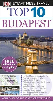 DK Eyewitness Top 10 Travel Guide: Budapest (BOK)
