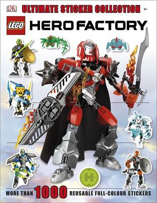 LEGO Hero Factory Ultimate Sticker Collection (BOK)