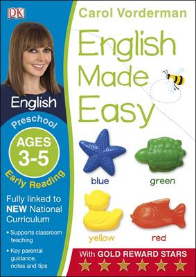 English Made Easy Preschool Early Reading Ages 3-5 (BOK)