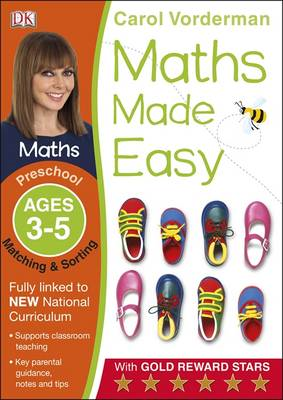 Maths Made Easy Matching And Sorting Preschool Ages 3-5 (BOK)