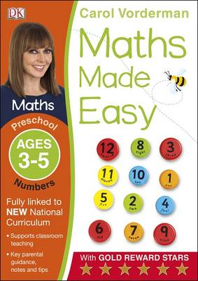Maths Made Easy Numbers Ages 3-5 Preschool Key Stage 0 (BOK)