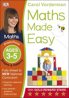 Maths Made Easy Shapes And Patterns Preschool Ages 3-5 (BOK)