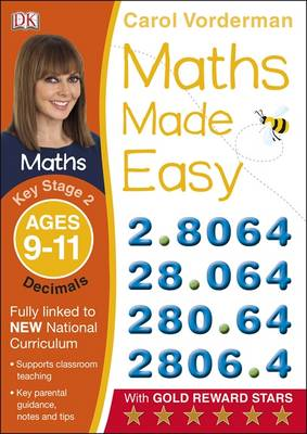Maths Made Easy Decimals Ages 9-11 Key Stage 2 (BOK)