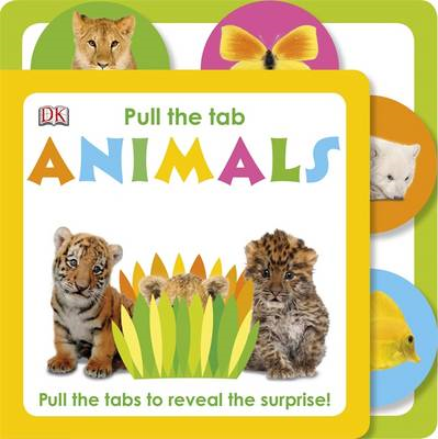 Pull The Tab Animals (BOK)