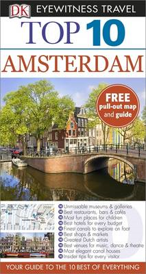 DK Eyewitness Top 10 Travel Guide: Amsterdam (BOK)