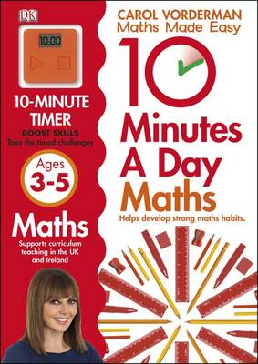 10 Minutes a Day Maths Ages 3-5 (BOK)