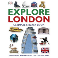 Explore London: The Ultimate Sticker Book (BOK)