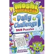Moshi Monsters: Daily Challenge Puzzle Book: 365 Puzzles (BOK)