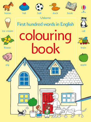 First 100 Words Colouring Book (BOK)