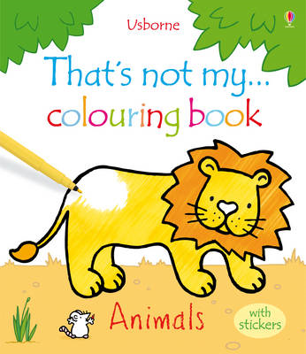 That's Not My ... Colouring Book Animals with Stickers (BOK)