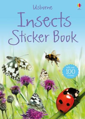 Insects Sticker Book (BOK)