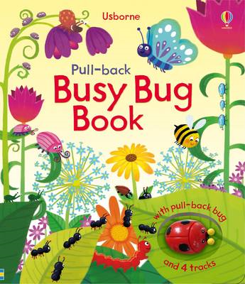Pull-Back Busy Bug Book (BOK)