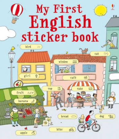 My First English Sticker Book (BOK)