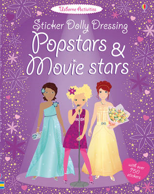 Sticker Dolly Dressing Popstars & Movie Stars (BOK)