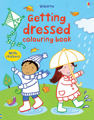 Getting Dressed Colouring Book with Stickers (BOK)