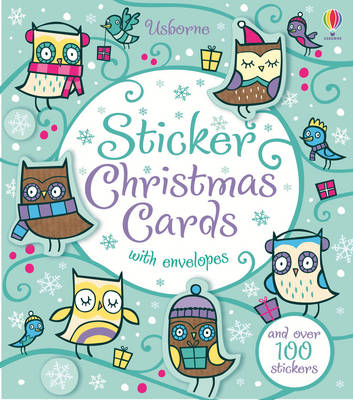 Sticker Christmas Cards (BOK)