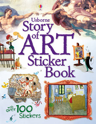 Story of Art Sticker Book (BOK)