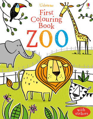 First Colouring Book Zoo (BOK)