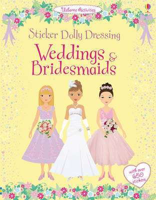 Sticker Dolly Dressing Weddings and Bridesmaids (BOK)