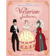 Historical Sticker Dolly Dressing Victorian Fashion (BOK)