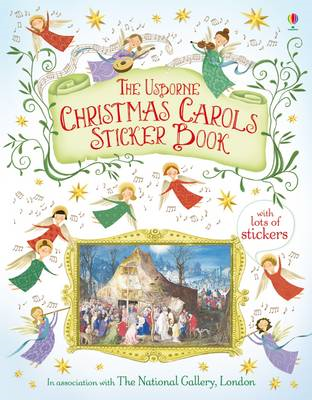 Christmas Carols Sticker Book (BOK)