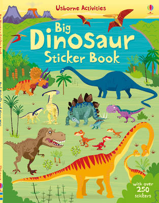 Dinosaurs Sticker Book (BOK)