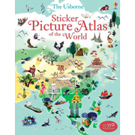 Sticker Picture Atlas of the World (BOK)