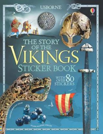 Story of the Vikings Sticker Book (BOK)