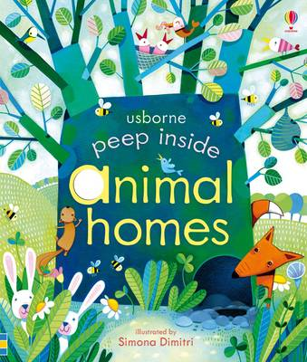 Peep Inside Animal Homes (BOK)