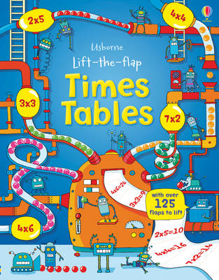 Lift the Flap Times Tables Book (BOK)