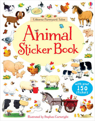 Farmyard Tales Animals Sticker Book (BOK)
