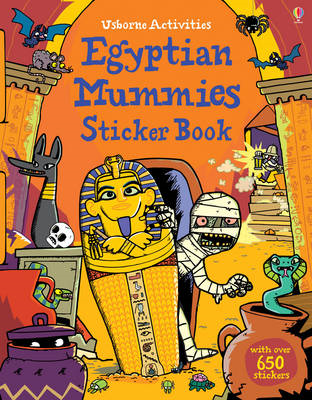 Egyptian Mummies Sticker Book (BOK)