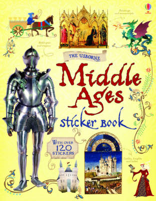 The Middle Ages Sticker Book (BOK)