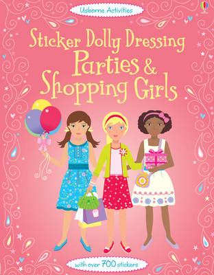 Sticker Dolly Dressing Parties and Shopping Girls (BOK)