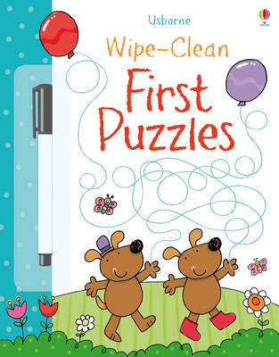 Wipe-Clean First Puzzles (BOK)