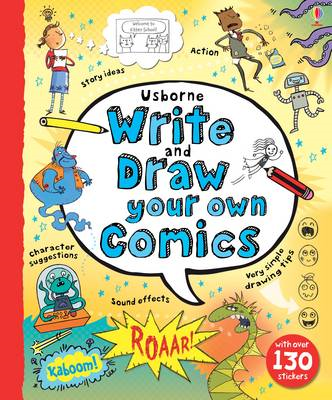 Write and Draw Your Own Comics (BOK)