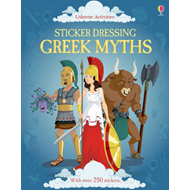 Sticker Dressing Greek Myths (BOK)
