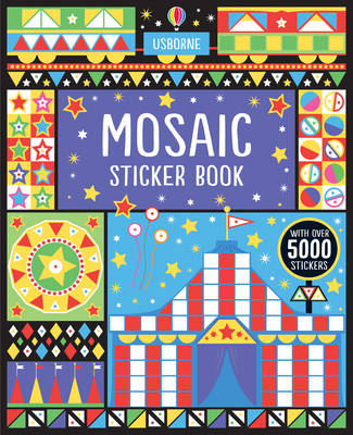 Mosaic Sticker Book (BOK)