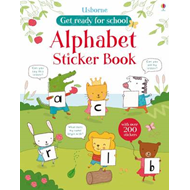 Alphabet Sticker Book (BOK)