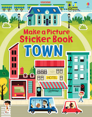 Make a Picture Sticker Book Towns (BOK)