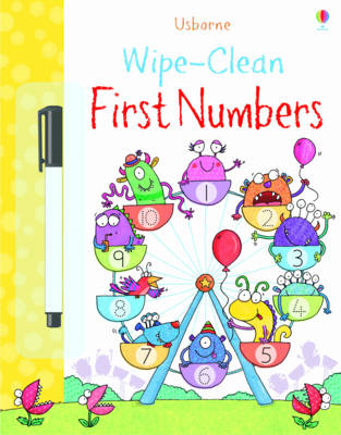 Wipe-clean First Numbers (BOK)