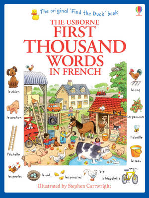 First Thousand Words in French (BOK)