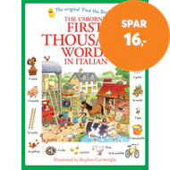 Produktbilde for First Thousand Words in Italian (BOK)
