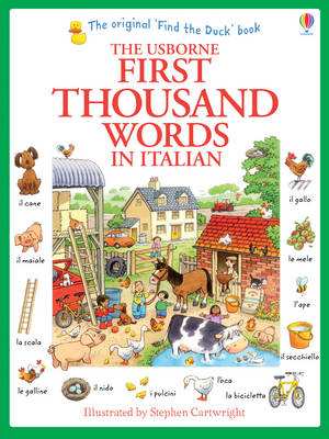 First Thousand Words in Italian (BOK)