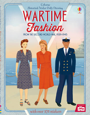 Historical Sticker Dolly Dressing Wartime Fashion (1939-1945 (BOK)
