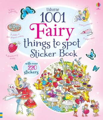 1001 Fairy Things to Spot Sticker Book (BOK)