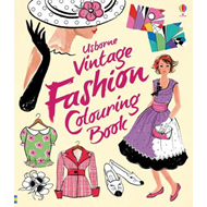 Vintage Fashion Colouring Book (BOK)