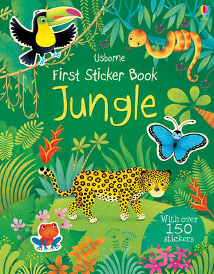 First Sticker Book Jungle (BOK)