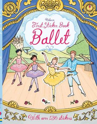First Sticker Book Ballet (BOK)